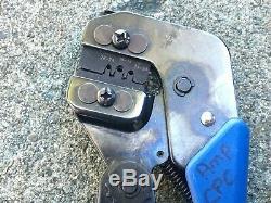 TYCO PRO-CRIMPER III Hand Crimping Tool Crimper, 28-24, 18-16, 24-20 head