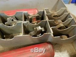 Thomas & Betts Co TBM-8 Wire Lug Crimper Hand Tool with 8 Dies in Box