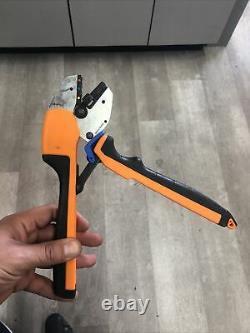 Thomas & Betts ERG4001 RA/RB/RC Terminal Hand Crimping Tool Black/Orange