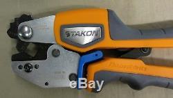 Thomas & Betts ERG4008 Ergonomic Hand Tool for Crimping D E F G & H Non Insulate