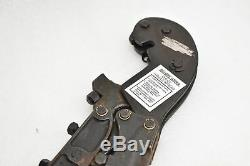 Thomas & Betts TBM6 Heavy Duty Ratcheting Crimp Tool Hand Crimper without Dies