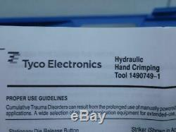 Tyco 1490749-1 Hydraulic Hand Crimping Tools T142976