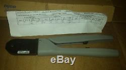 Tyco 91501-1 TE Connectivity / AMP Brand TOOL HAND CRIMPER 20-24AWG SIDE