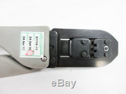 Tyco 91510-1 Certicrimp 2 Saht Umnl 24-18 Awg Hand Crimping Tool