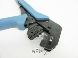 Tyco Electronics Hand Crimper Ratchet Tool With 58448-2 Die 28-20 Awg D-sub