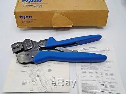 Tyco Pro-crimper III Hand Crimping Tool Assembly 354940-1 Die 90546-2 Nib 10