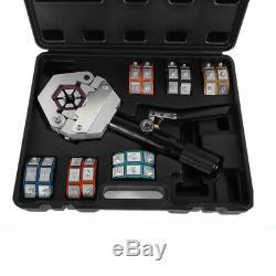 US 71500 A/C Hydraulic Hose Crimper Tool Kit Set Hand Tool Crimping Hose New