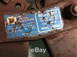 USED AMP Rota-Crimp 600850 Rota CRIMP HAND CRIMPING TOOL