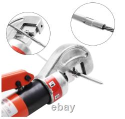Upgraded Hydraulic Cable Crimper Hand Tool for 1/8 3/16 Stainless Steel Cable R