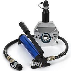 VEVOR 7842B Hydraulic Hose Crimper Kit PVC Rubber Hose Crimping Tool Hand Pump