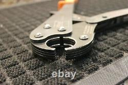 Viega PureFlow 1-Inch Press Crimper 2-Handed Crimping Ratchet Tool