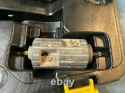 Viega Pureflow Pex Press Hand Crimper Tool Set 1/2 3/4 1 with Prep Tools & Case