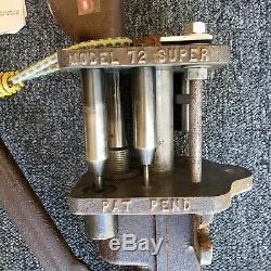 Vintage Herter's Model 72 Shotshell Reloading Tool Vtg Lee Star Crimps Must See