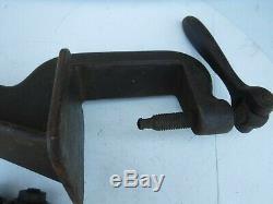 Vintage Peck Stowe & Wilcox Crimper Bead Edge Roller Tin Metal Blacksmith Tool
