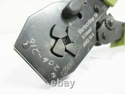 Wago Variocrimp 16 6-16 MM Awg 10-6 206-216 Hand Crimp Tool Wire Ferrule