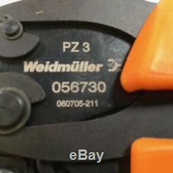 Weidmuller 0567300000 Crimpzange Hand Crimper Tool PZ 3 Nesteltang New NFP